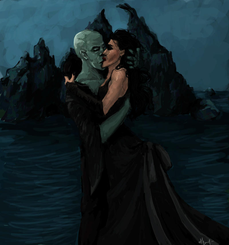 Dark Lord and Bellatrix by liana-wood on DeviantArt