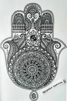 hamsa by Tatyanka-Gunchak