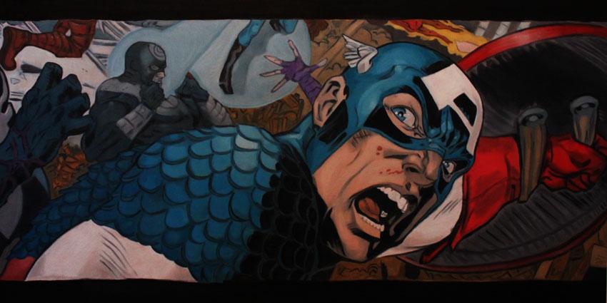 Captain America: Frontlines by QuincMSK