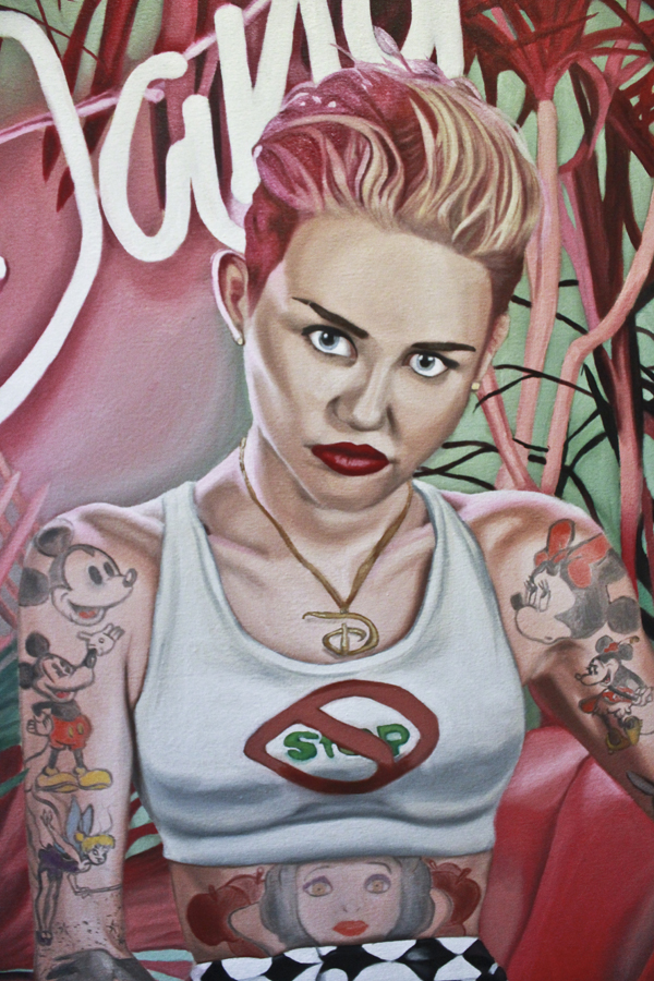 Miley's Dangers [Detail] by QuincMSK