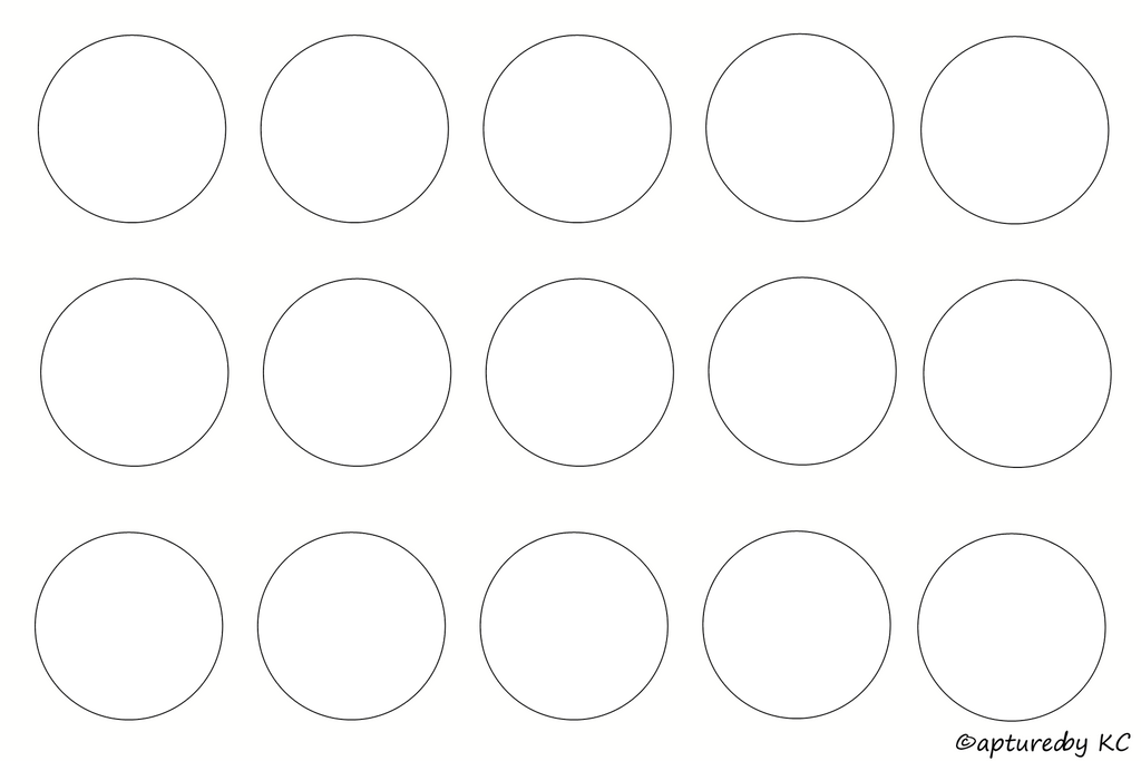 1 inch circle template free - free bottle cap template sheet 4x6 by capturedbykc on