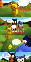 Sonic and Pikachu Fanbase Problem