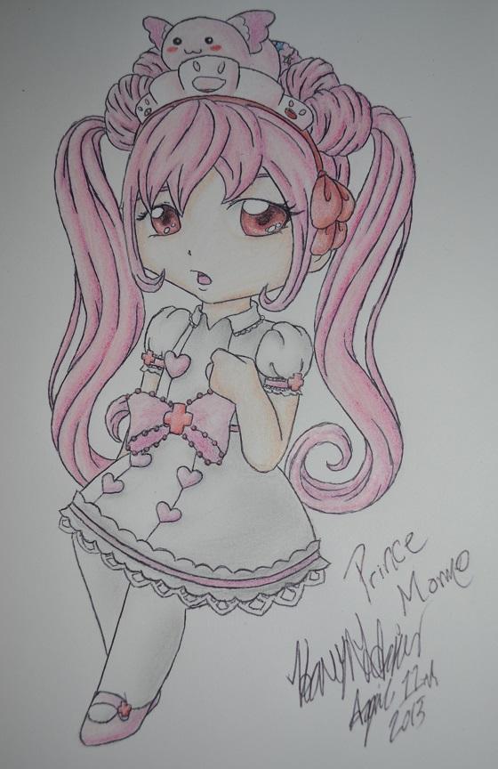 PokeMini Character- Momo by Heavonna