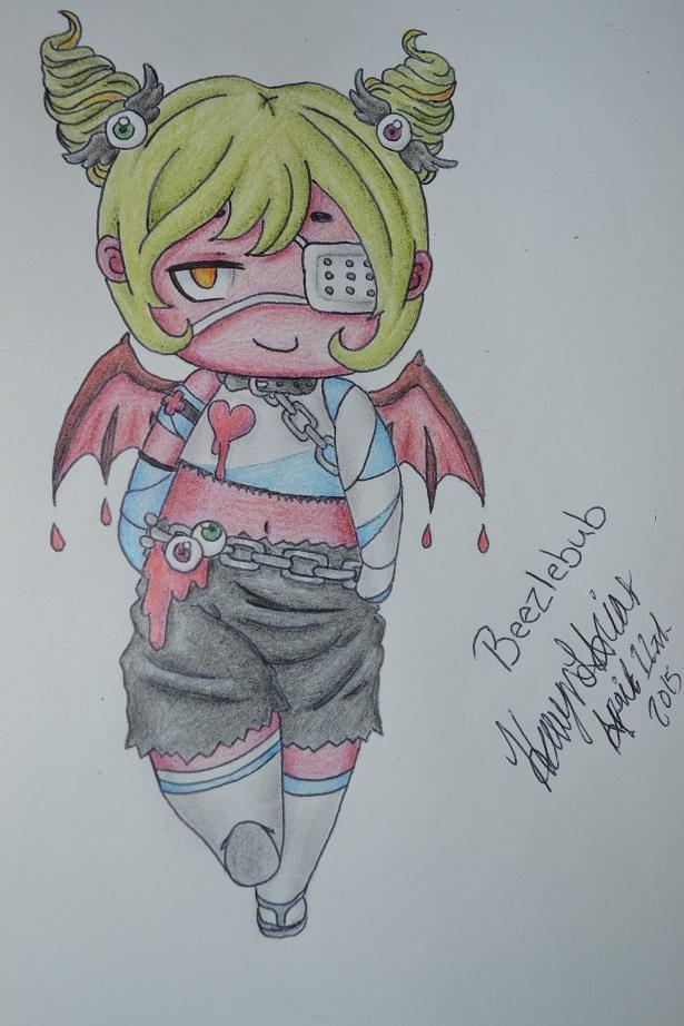 PokeMini Character- Beezlebub by Heavonna