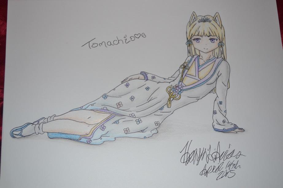 PokeMini Character- Tomachi by Heavonna