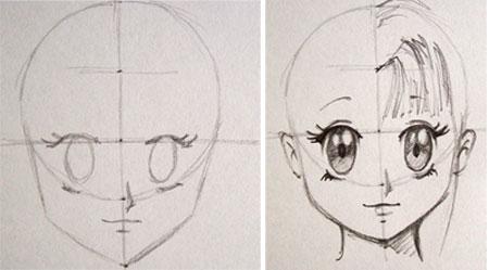 Anime Para Dibujar a Lapiz Paso a Paso Anime Dibujos a Lapiz Paso a