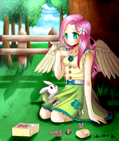 Fluttershy  by Solanapple