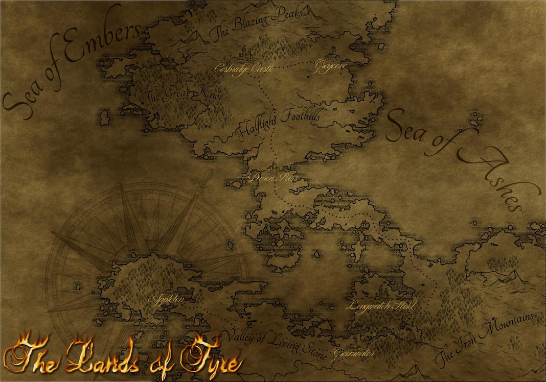 Lands of Fyre (Alternate Version) by Cirias