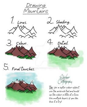 Fantasy Mapmaking Tutorial: Mountains