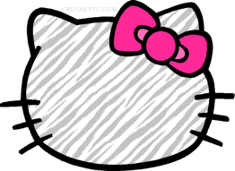 Hello Kitty Zebra by mjmoonwalkerfan