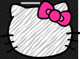 Hello Kitty Zebra by mjmoonwalkerfan