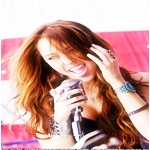 Miley Cyrus Icon by mjmoonwalkerfan