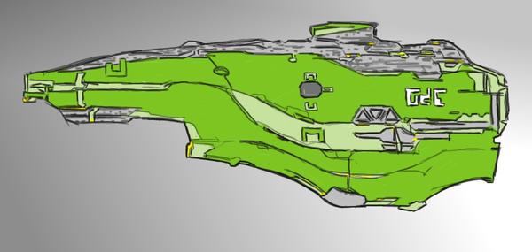One Ship by tortugarana