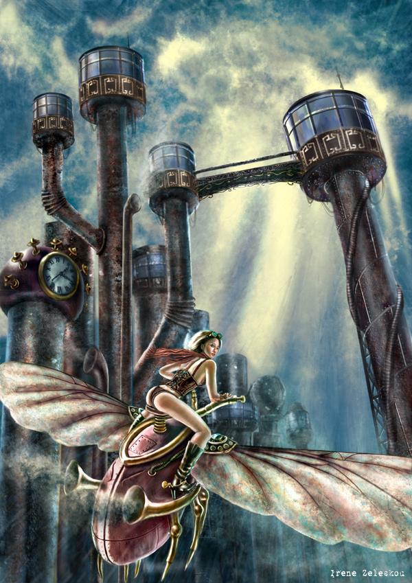 Escape this steampunk city