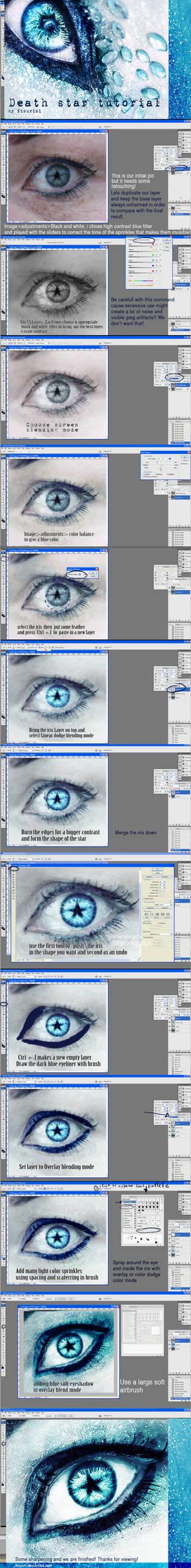 eye tutorial- death star