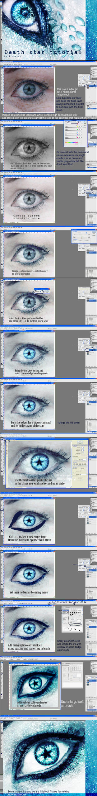 eye tutorial- death star by ftourini