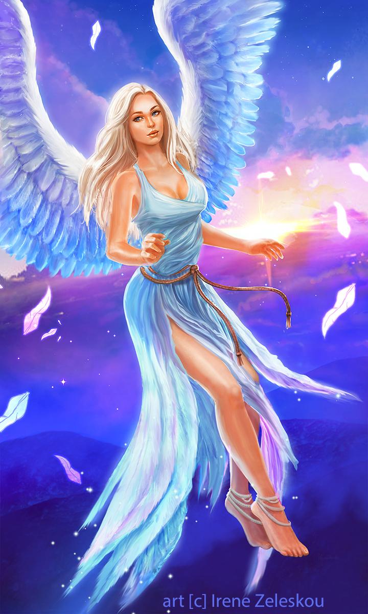 Angel of light by ftourini on deviantart