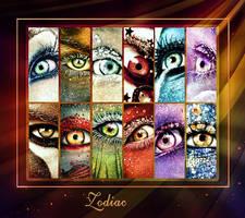 2017 Zodiac eyes calendar by ftourini