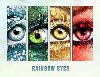 2013 calendar rainbow eyes by ftourini