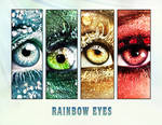 2013 calendar rainbow eyes