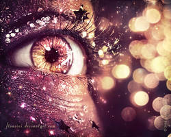 bokeh eye wallpaper