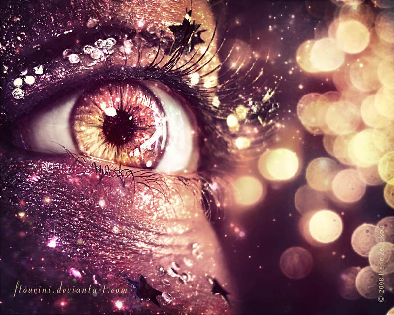 bokeh eye wallpaper by ftourini