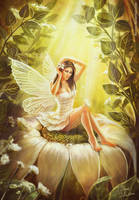 Pin-up fairy