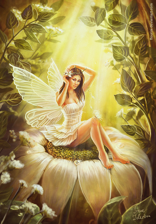 Pin-up fairy by ftourini