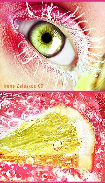 lemon sorbet eye by ftourini