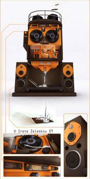 orange squeezer remix machine