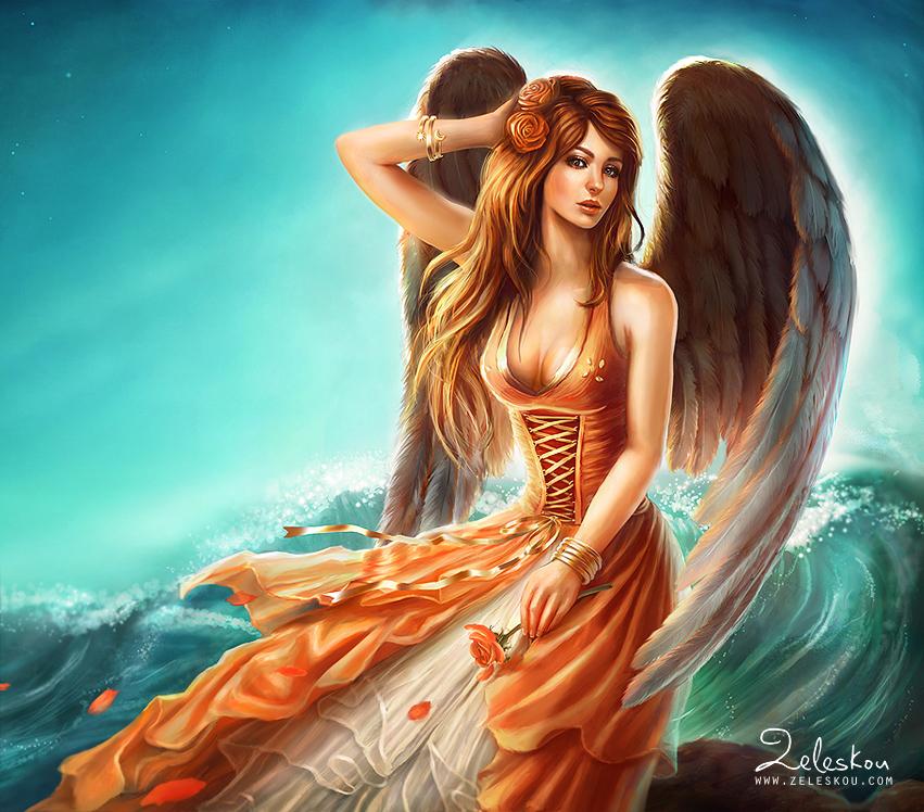 Aurora goddess by ftourini