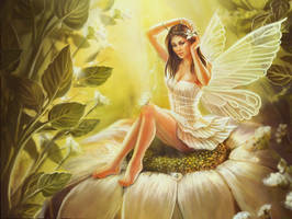 pin up fairy wallpaper