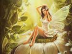 pin up fairy wallpaper