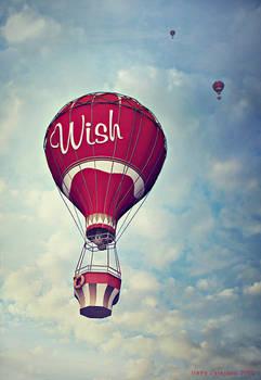 wish baloon