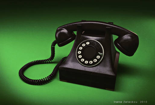 good old black phone