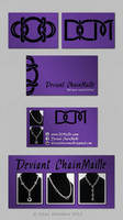 deviant chainmaille card