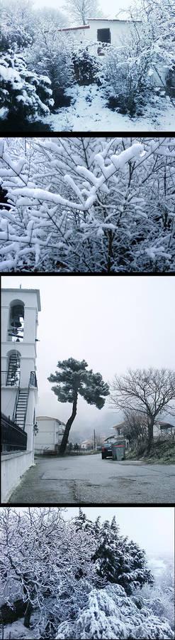 Greece snow