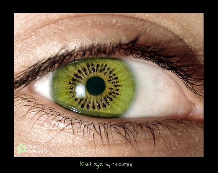 kiwi eye