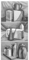 Pencil studies