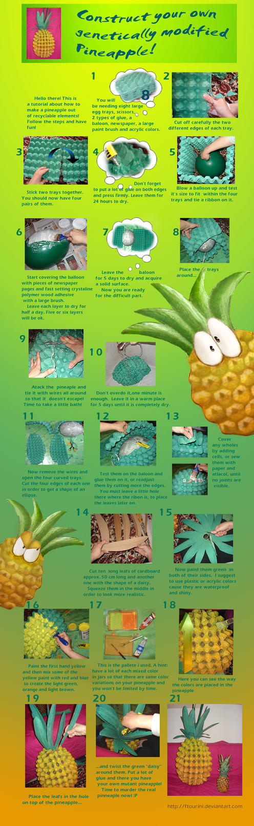 Huge pineapple tutorial by ftourini