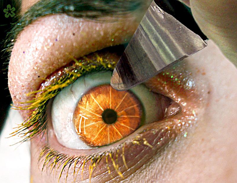 Eye fancy orange by ftourini