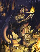 Fireside Leigh by JayAxer