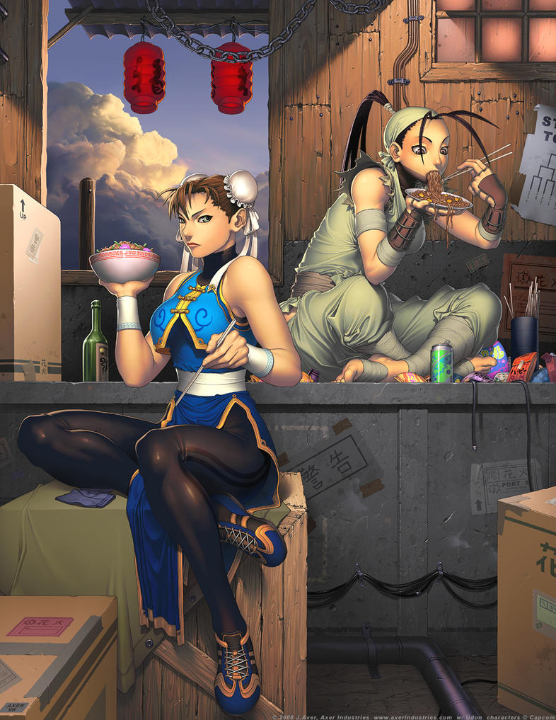 Street Fighter Tribute Image by JayAxer