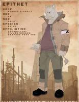 EPITHET comic char: Konrad by JayAxer