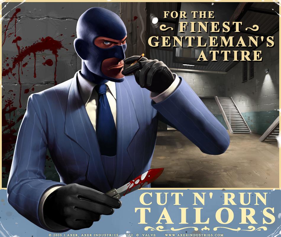 TF2 Spy by JayAxer