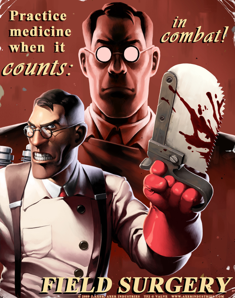 TF2 Medic by JayAxer