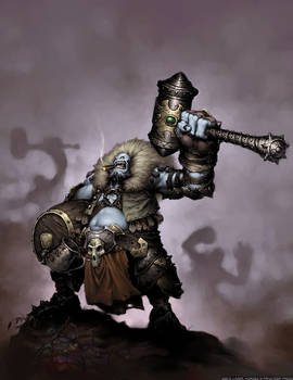 Hordes: Skaldi Bonehammer