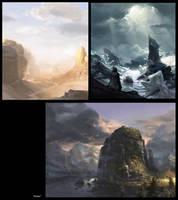 Landscape practice by JayAxer