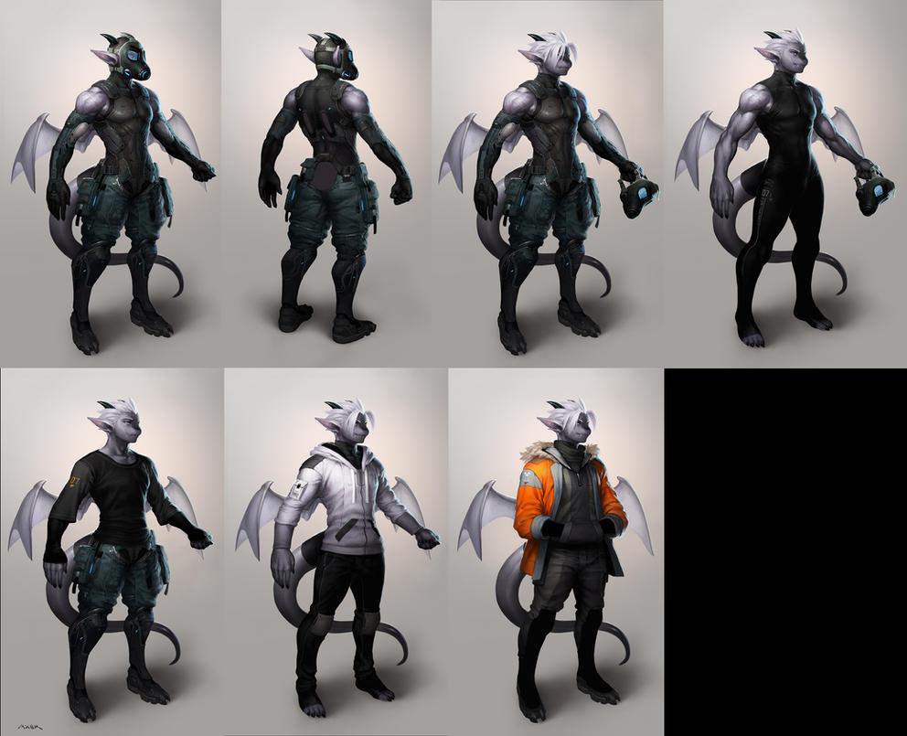Axer - Full Concept by JayAxer