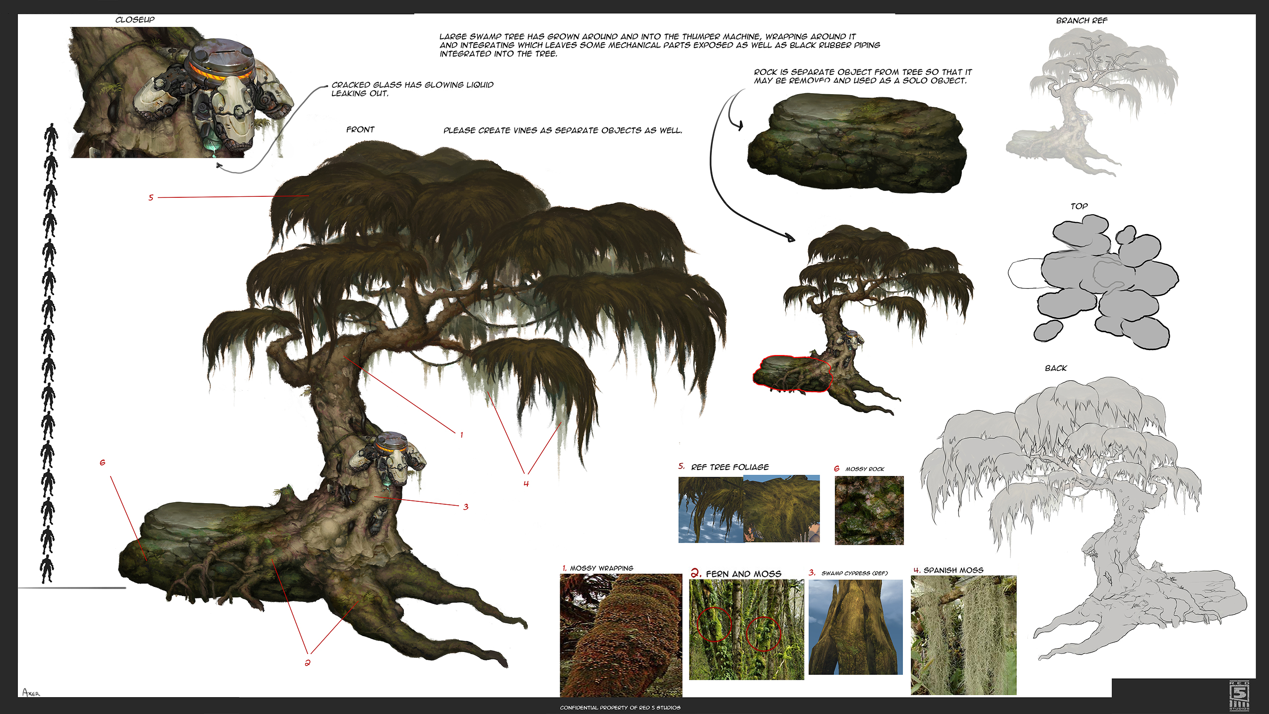 Firefall Thumper Tree Concept